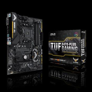 AMD X470 ATX Gaming motherboard with M 2 heatsink, Aura Sync
