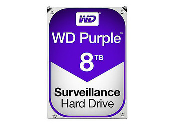 "3.5"" WD PURPLE,8TB,5400RPM,SATA 6Gb/s,256Cache,3 Yrs warranty"