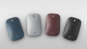 Surface Mobile Mouse Bluetooth Commercial Burgundy