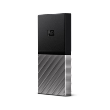 WD My Passport SSD, 256GB, USB 3.1, Type C & Type A compatible, Improved speeds up to 540 MB/s, 3Y