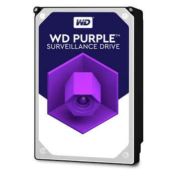 WD Purple Surveillance Hard Drive,SATA 6 Gb/s,3.5-inch,12TB,7200-RPM, 256MB Cache Class,3 years