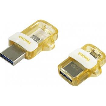 SanDisk UltraDual Drive m3.0, Gold Editn,USB3.0,micro-USB cnnectr, OTG-enabld Android dvics,5Y