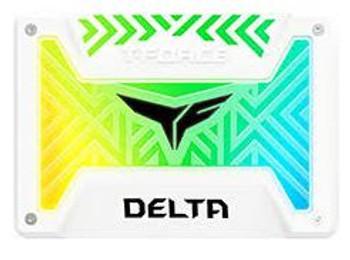 Team Delta RGB SSD 500GB White