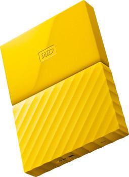 WD 2TB My Passport Portable Hard Drive (Yellow)