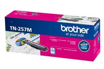 Brother TN-257M MAGENTA HIGH YIELD 2.3K