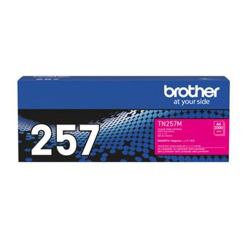 Brother TN-257M Toner Cartridge Magenta