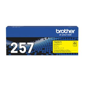 Brother TN-257Y Toner Cartridge Yellow High Yield