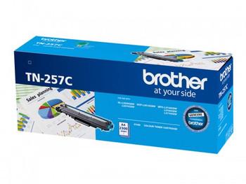 BROTHER TN-257C CYAN HIGH YIELD 2.3K
