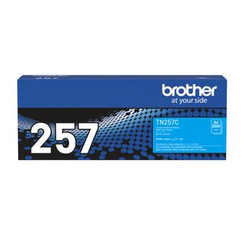 Brother TN-257C Toner Cartridge Cyan High Yield
