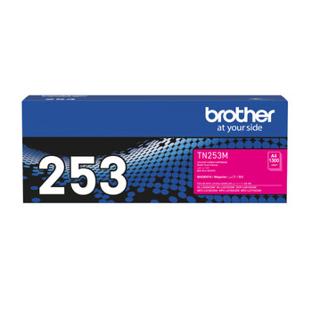 Brother TN-253M Toner Cartridge Magenta - 1,300 Pages