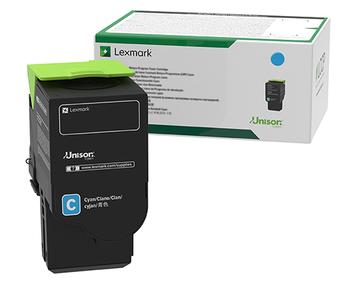 Lexmark C236 Cyan High Yield Return Program Toner Cartridge 2.3K for C2425, MC2425