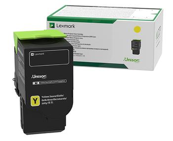 Lexmark C236 Yellow High Yield Return Program Toner Cartridge 2.3K for C2425, MC2425