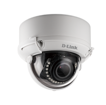D-Link 5MP Day & Night Outdoor Vandal-Proof Network Camera with motorised varifocal lens