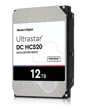 WD ULTRASTRA,  12TB High-Capacity;Interface:SATA 6Gb/s;Limited warranty 5years;RPM Class:7200;Cache:128MB, 256MB