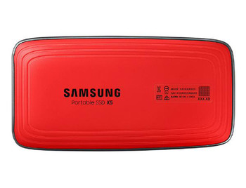 Samsung Portable SSD X5, 500GB, Thunderbolt 3 ONLY, Type-C, Read/Write(Max) 2800MB/s, 2,300MB/s, Password Security, 3 Years Warranty