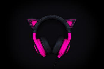 Kitty Ears for Razer Kraken - Neon Purple - FRML Packaging