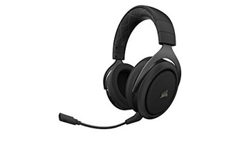 CORSAIR HS70 WIRELESS Gaming Headset, Carbon