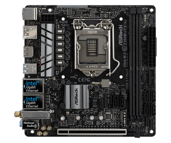 Mini ITX;M.2(SSD & WiFi):1 SSD = PCIe Gen3 x4 & SATA3