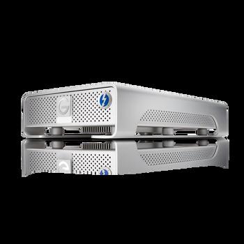 G-DRIVE Thunderbolt USB 3.0 6TB Professional Desktop Hard Drive, 7200RPM SATA III Drive, USB 3.0/Thunderbolt, Silver