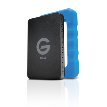 G-DRIVE ev RaW 500GB Solid-State Drive, USB 3.0, Lightweight and Rugged, evolution series compatible, includes USB-B to USB-C cable