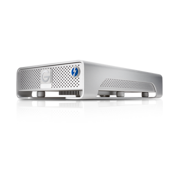 G-DRIVE Thunderbolt USB 3.0 8TB Professional Desktop Hard Drive, 7200RPM SATA III Drive, USB 3.0/Thunderbolt, Silver