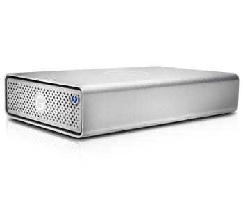 G-DRIVE Thunderbolt 3 8TB Professional Desktop Hard Drive, 7200RPM , 2x Thunderbolt 3/1x USB-C, Silver
