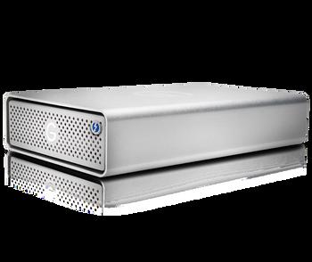 G-DRIVE Thunderbolt 3 10TB Professional Desktop Hard Drive, 7200RPM , 2x Thunderbolt 3/1x USB-C, Silver