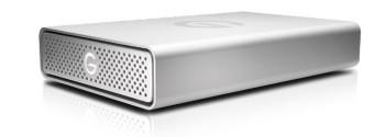 G-DRIVE USB-C 4TB Professional Desktop Drive, Silver