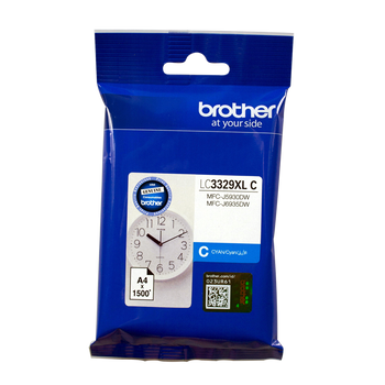 Brother LC3329XL Cyan Ink Cartridge Up to 1500 Pages