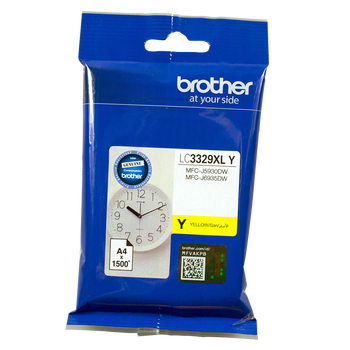 Brother LC3329XL Yellow Ink Cartridge up to 1500 Pages