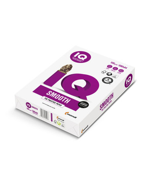 IQ Smooth Mondi A4 100gsm Paper (180090386) - 4 Reams Per Box