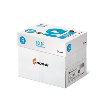 IQ Color Mondi A4 80gsm Paper (YE23 Yellow) - 5 Reams Per Box
