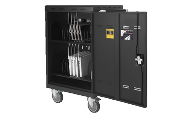 32 bays, tablets, laptops & Chromebooks Charge Cart