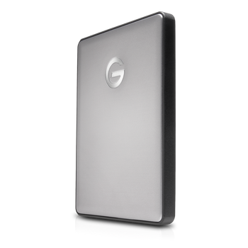 G-DRIVE mobile 2TB USB C, Portable, USB powered, Stylish aluminum finish, Space Gray