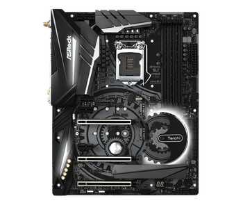 PCB Size:12*9.6;Form Factor:ATX;M.2(SSD & WiFi):3 SSD=PCIe Gen3 x4 & SATA3