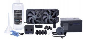 Alphacool Eissturm Blizzard Copper 45 2x120mm - complete kit