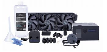 Alphacool Eissturm Blizzard Copper 45 3x120mm - complete kit