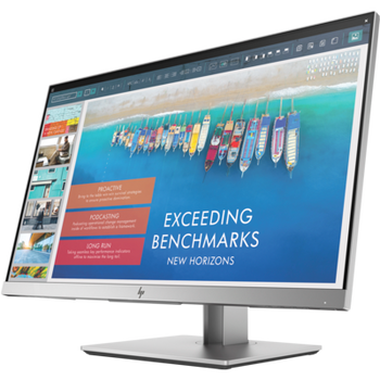 "HP E243D 23.8"" IPS Docking Monitor, 16:9, 1920x1080, HDMI+VGA+USB-C,  Tilt, Swivel, Pivot, Height, Webcam 3 Yrs"