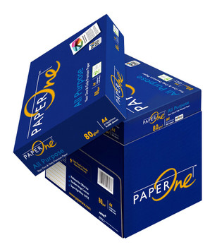 PaperOne All Purpose A4 80gsm Premium White Copy Paper Paper - 1 Ream (Minimum Purchase of 5 Reams (1 Box) required)