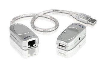 USB 2.0 Cat 5 Extender, up to 60m, suppoer 12Mbps or 1.5Mbps - [ OLD SKU: UCE-60 ]