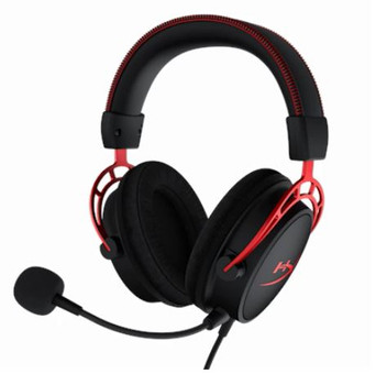HyperX Cloud Alpha - Gaming Headset Red