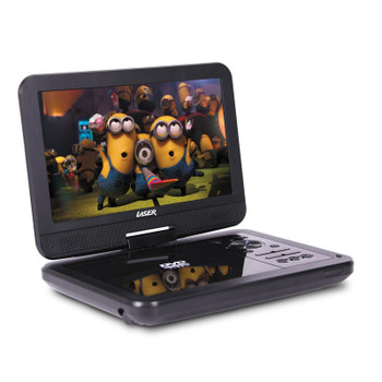 "Portable DVD Player 10"" with Bonus Pack (headrest mounts and earphones)"