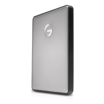 G-DRIVE mobile 1TB USB C, Portable, USB powered, Stylish aluminum finish, Space Gray