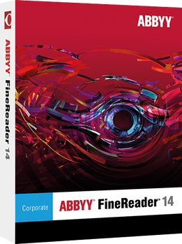 FineReader 14 Corporate  - 1 license; ESD annual subscription