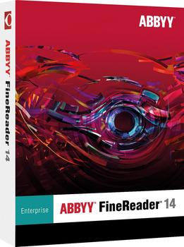 FineReader 14 Enterprise - 1 license; for Educational/Govt - ESD annual subscription