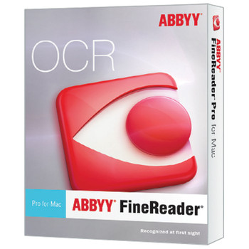 FineReader Professional for Mac - 1 standalone license; ESD