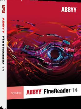 FineReader 14 Standard   - 1 standalone license for Educational/Govt - ESD