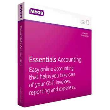 MYOB Essentials Accounting with One Payroll for PC and MAC User Online Only - 12 months Subscription