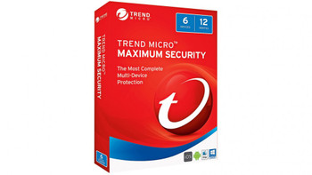 Trend Micro Maximum Security 2017 (1-6 Devices) 12mth Add-On