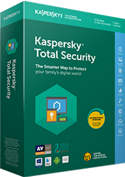 Kaspersky Total Security - Multi-Device Australia and New Zealand Edition. 3-Device 2 year Base Box